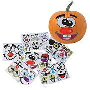 Make Your Own Jack O Lantern Halloween Sticker Set (Package of 12 Sticker Sheets)