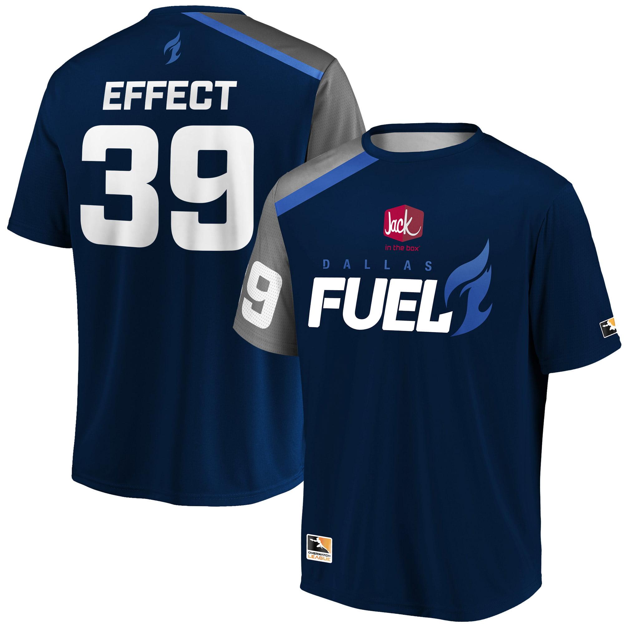 EFFECT Dallas Fuel Overwatch League Replica Home Jersey - Navy