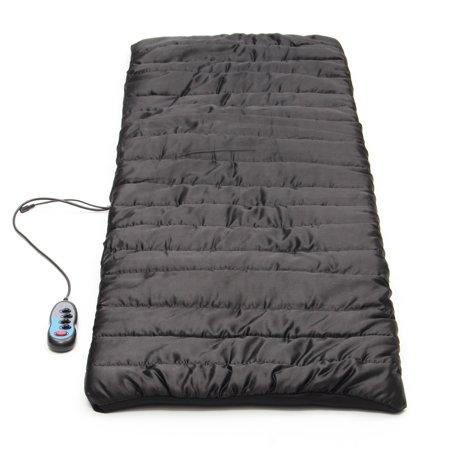 Heated Massage Mat Mattress Full Body Massager Remote ...