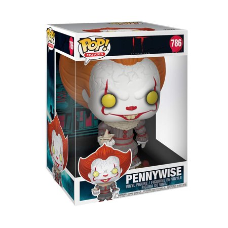 Funko IT Chapter Two POP Pennywise With Boat 10 Inch Vinyl Figure