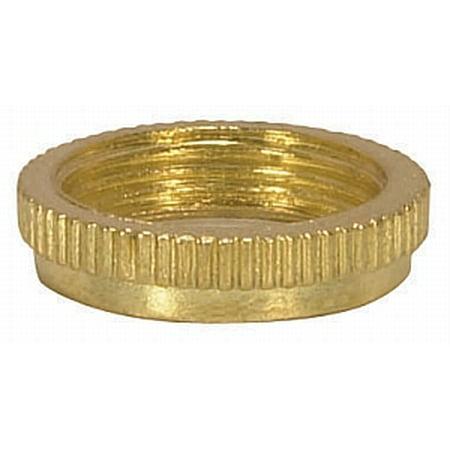 Satco Rings for Threaded Candelabra Sockets Brass Brass 5 Candelabra Sockets
