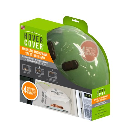 As Seen On Tv Hover Cover Microwave Splatter Guard