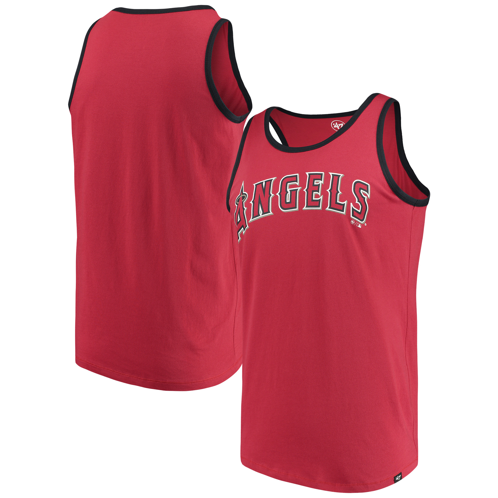 Los Angeles Angels '47 Wordmark Crosstown Tank Top - Red