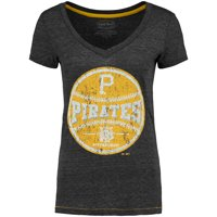 Pittsburgh Pirates Women's Hometown T-Shirt - Charcoal