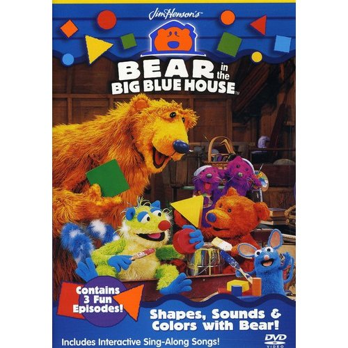 Bear In The Big Blue House: Shapes, Sounds & Colors With Bear! (Full Frame)