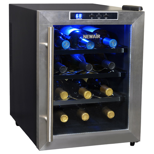 12 Bottle Thermoelectric Wine Cooler