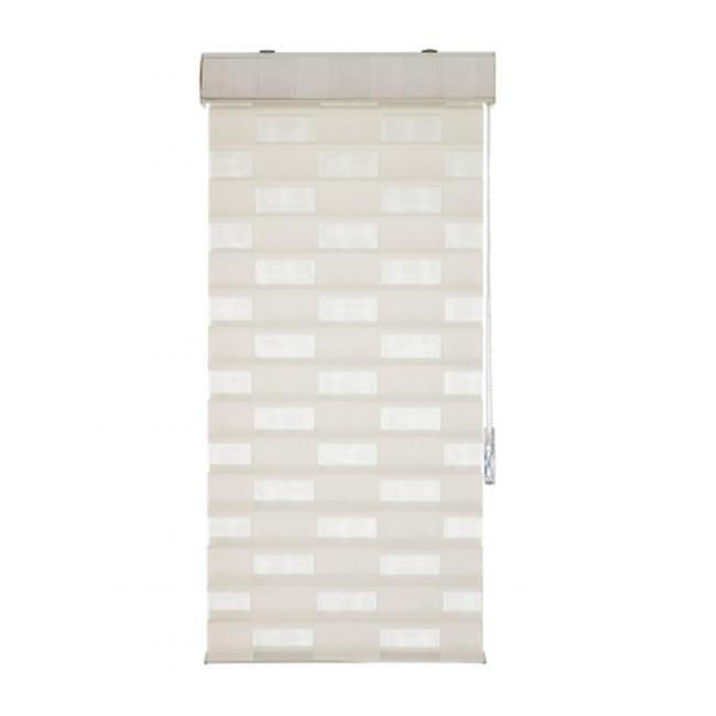 Heeshade SQ4254IV Square Sheer Shade, Ivory - 42 x 54 x 2 in.