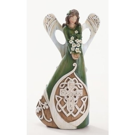 Celtic Cross Angel Figure (Angel Garden Figure)