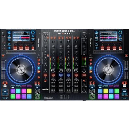 Denon DJ MCX8000 | Standalone DJ Player and Serato 4-Channel DJ