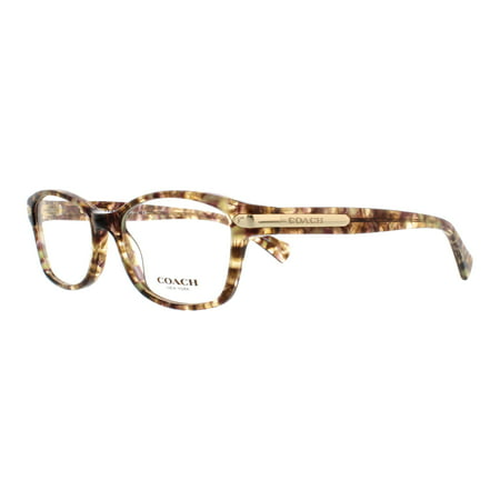 6b933d9234 COACH Eyeglasses HC6065 5287 Confetti Light Brown 51MM - Walmart.com