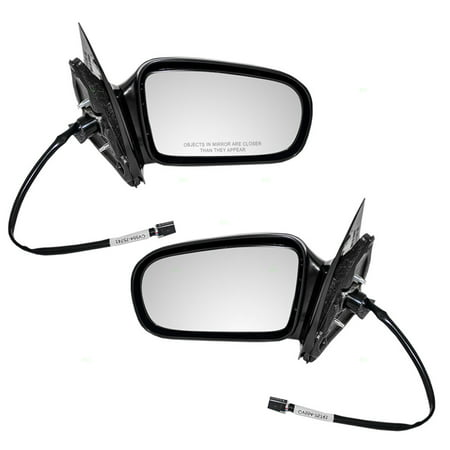 Driver and Passenger Power Side View Mirrors Replacement for Chevrolet Cavalier Pontiac Sunfire Coupe 10362464 22728842 Chevrolet Cavalier Ls Sport Coupe