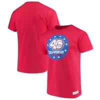 Washington Bullets Mitchell & Ness 1978 Championship 40th Anniversary T-Shirt - Red