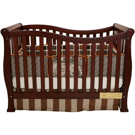 Afg Baby Furniture Nadia 3 In 1 Convertible Crib Cherry