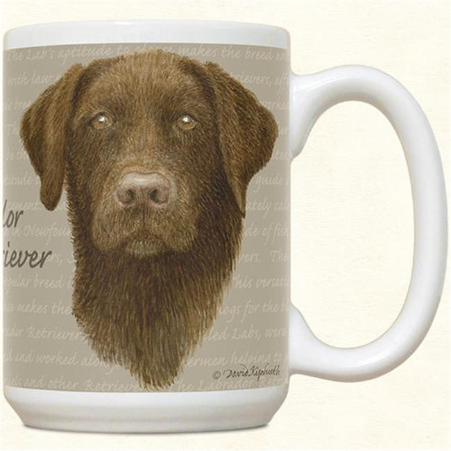 Chocolate Lab Mug by Fiddler's Elbow - C91FE