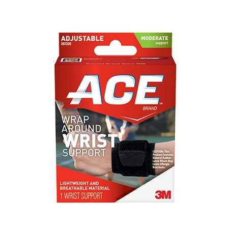 Ace Wrap Around Wrist Support  One Size Adjustable