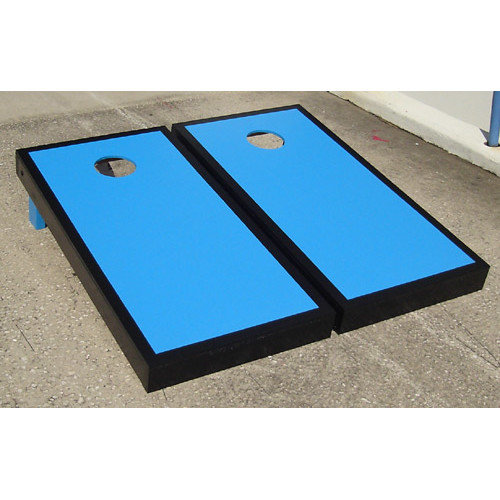Victory Tailgate Matching Border Cornhole Bean Bag Toss Game