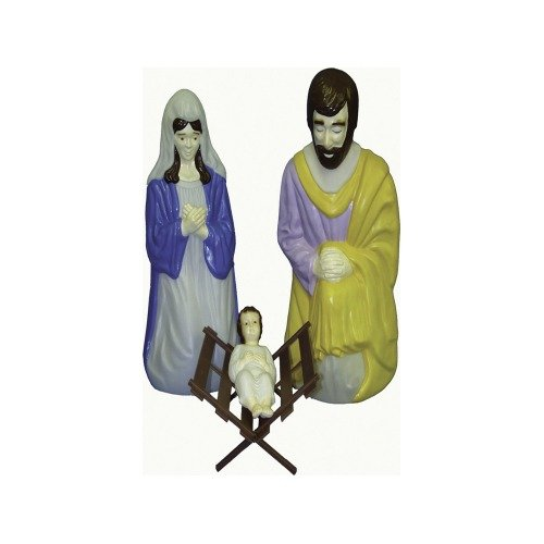 General Foam Plastics Baby Jesus with Cradle