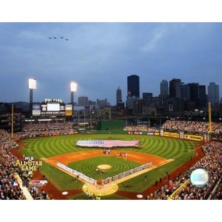 Pnc Park   2006 All Star Game  National Anthem Photo Print