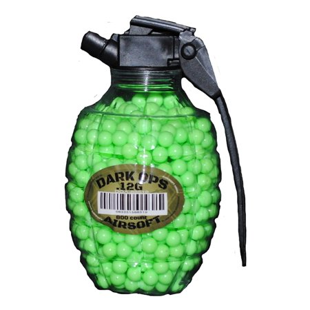 800 AIRSOFT BB GRENADE BOTTLE PELLETS 6MM .12G BBS AMMO
