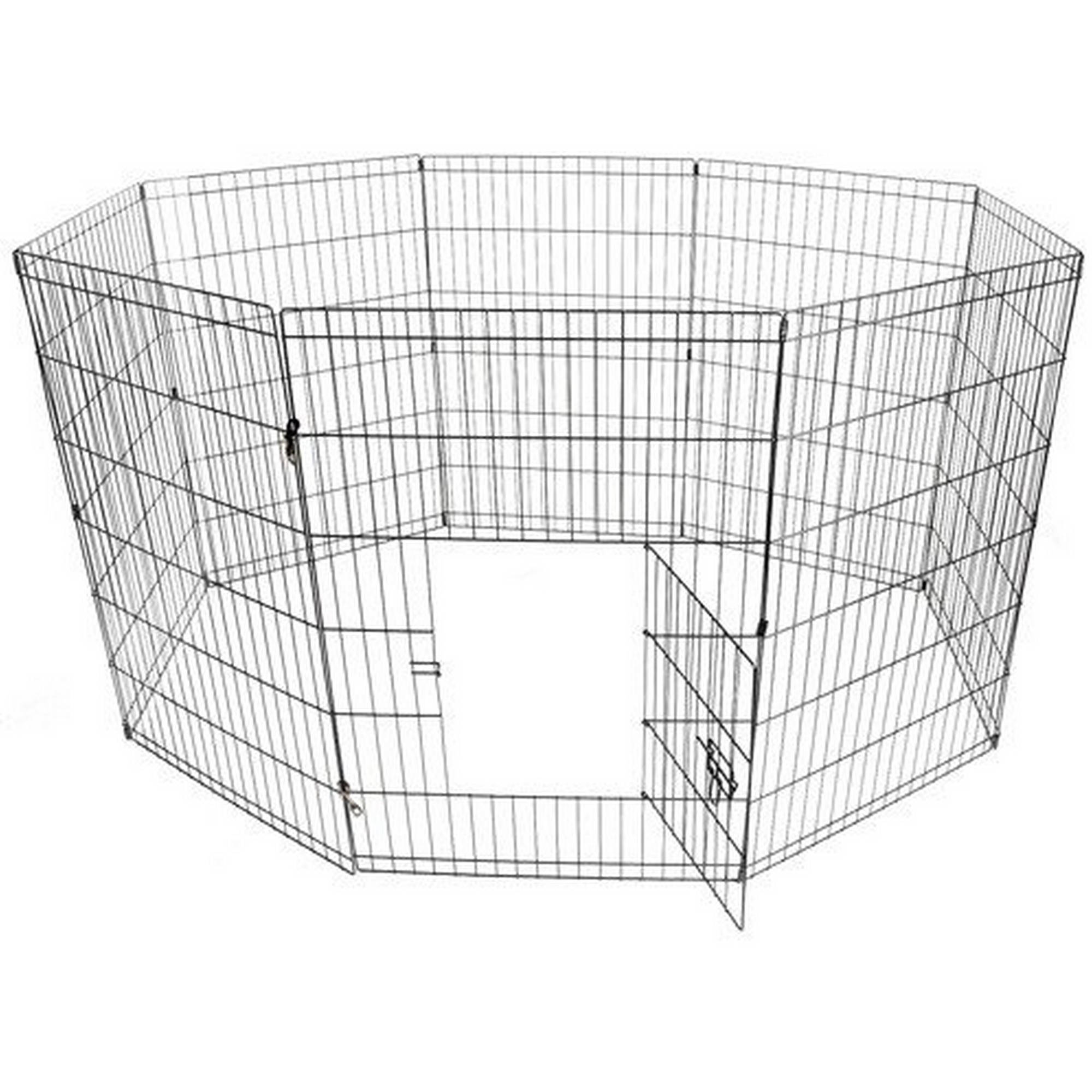Aleko SDK-30B Dog Playpen Crate Fence