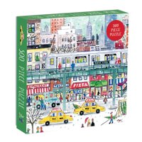 Michael Storrings - New York City Subway - 500 Piece Jigsaw Puzzle