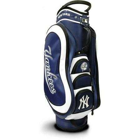Team Golf MLB New York Yankees Medalist Golf Cart Bag