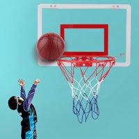 Hanging Basketball Mini Basketball Hoop Set Shatterproof Wall Hanging Indoor Basketball Toy