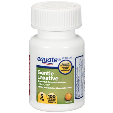 Equate Gentle Laxative, 100ct