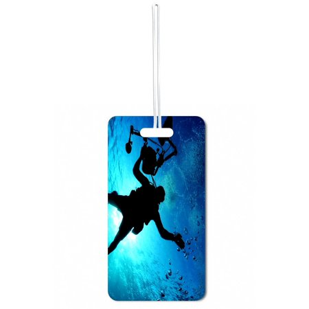 Deep Sea Diver Large Hard Plastic Double Sided Luggage Identifier Tag](Deep Sea Diver Outfit)