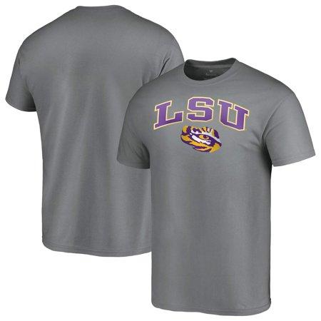 LSU Tigers Fanatics Branded Campus T-Shirt - Charcoal (Lsu Zombie)