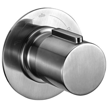 ALFI brand AB9101-BN Brushed Nickel Modern Round 3 Way Shower