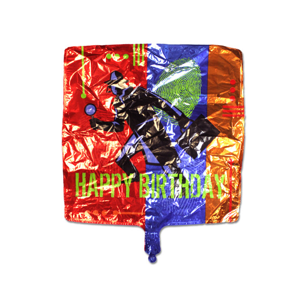 Secret Agent Mylar Happy Birthday Balloon (Pack Of 24)