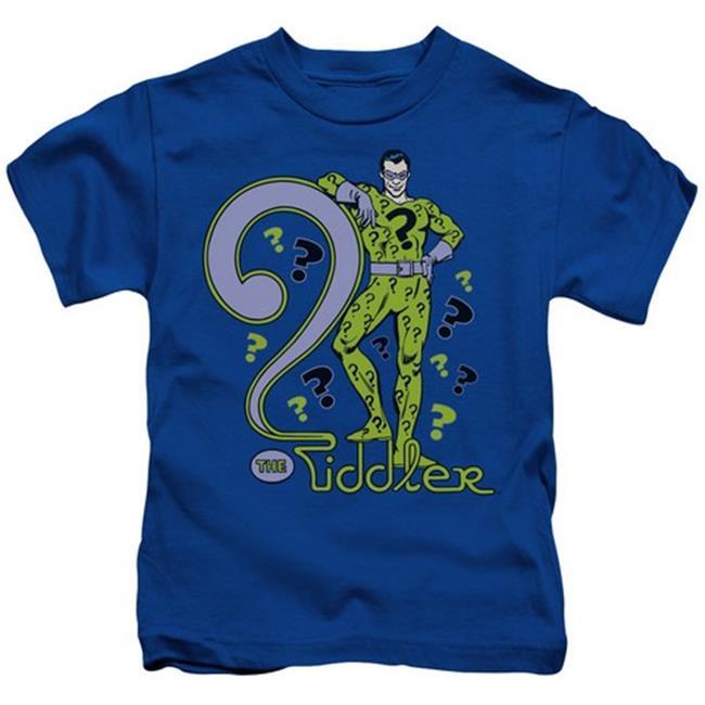 Dc-The Riddler - Short Sleeve Juvenile 18-1 Tee - Royal, Large 7 - image 1 de 1