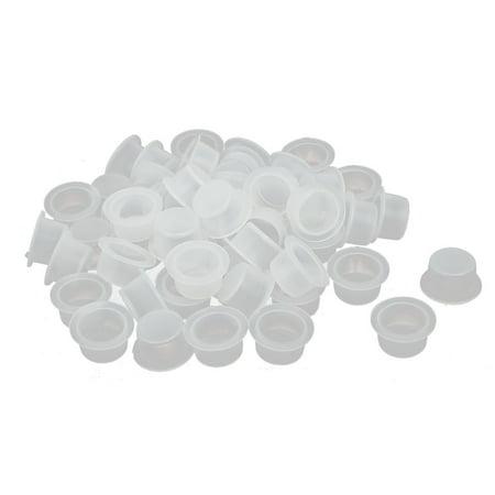 UN3/4 Plat Haut manchon protection Housse en Caps 50pcs - image 1 de 1