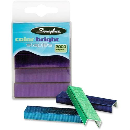Swingline Brightly Colored Staples