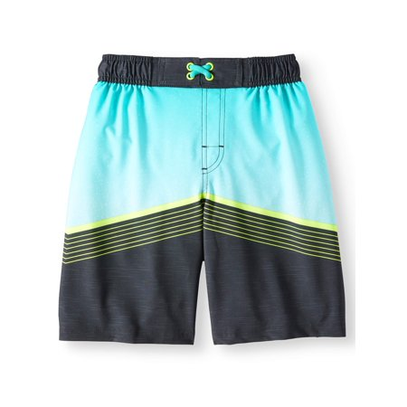 434e92b5037ab Wonder Nation - Wonder Nation Fashion Swim Trunk (Little Boys & Big ...