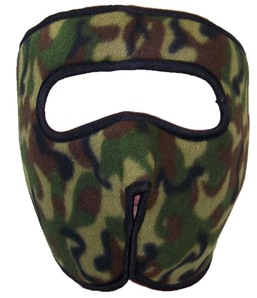 bfdebc121288a Best Winter Hats - Best Winter Hats Fleece Full Face Mask with Velcro  Closure(One Size) - Camouflage - Walmart.com