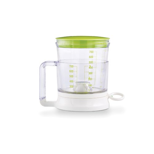 Click here to buy Bakelicious Sifter 3-Cup Plastic Measuring Cup.