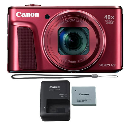 Canon PowerShot SX720 HS 20.3MP 40X Zoom Built-In Wifi / NFC Full HD 1080p Point and Shoot Digital Camera
