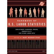 Handbook of U.S. Labor Statistics 2017 : Employment, Earnings, Prices, Productivity, and Other Labor Data