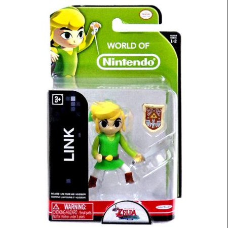 World of Nintendo The Legend of Zelda Link Mini Figure - Legend Of Link