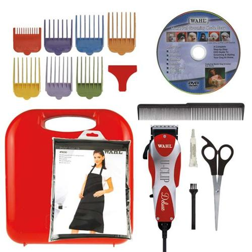 Wahl 9484-300 Deluxe U Clip Pro Home Pet Grooming Kit