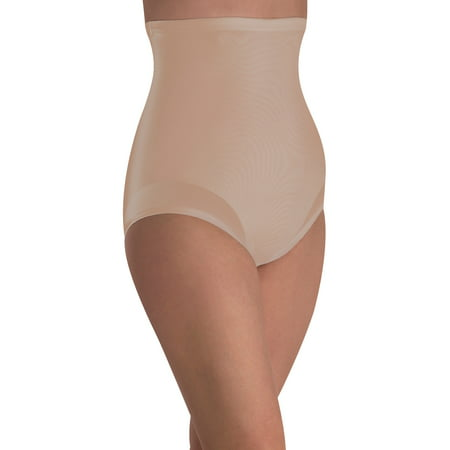 Extra Firm High Waist Shaping (Nylon White Brief)