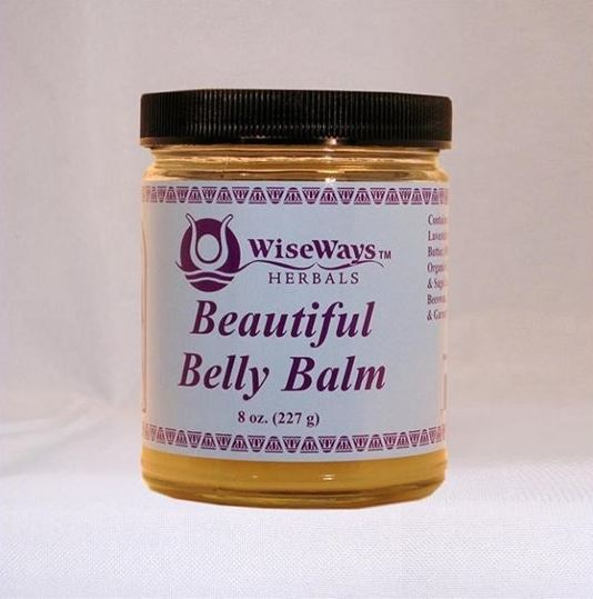 WiseWays Beautiful Belly Balm - 8 ounce