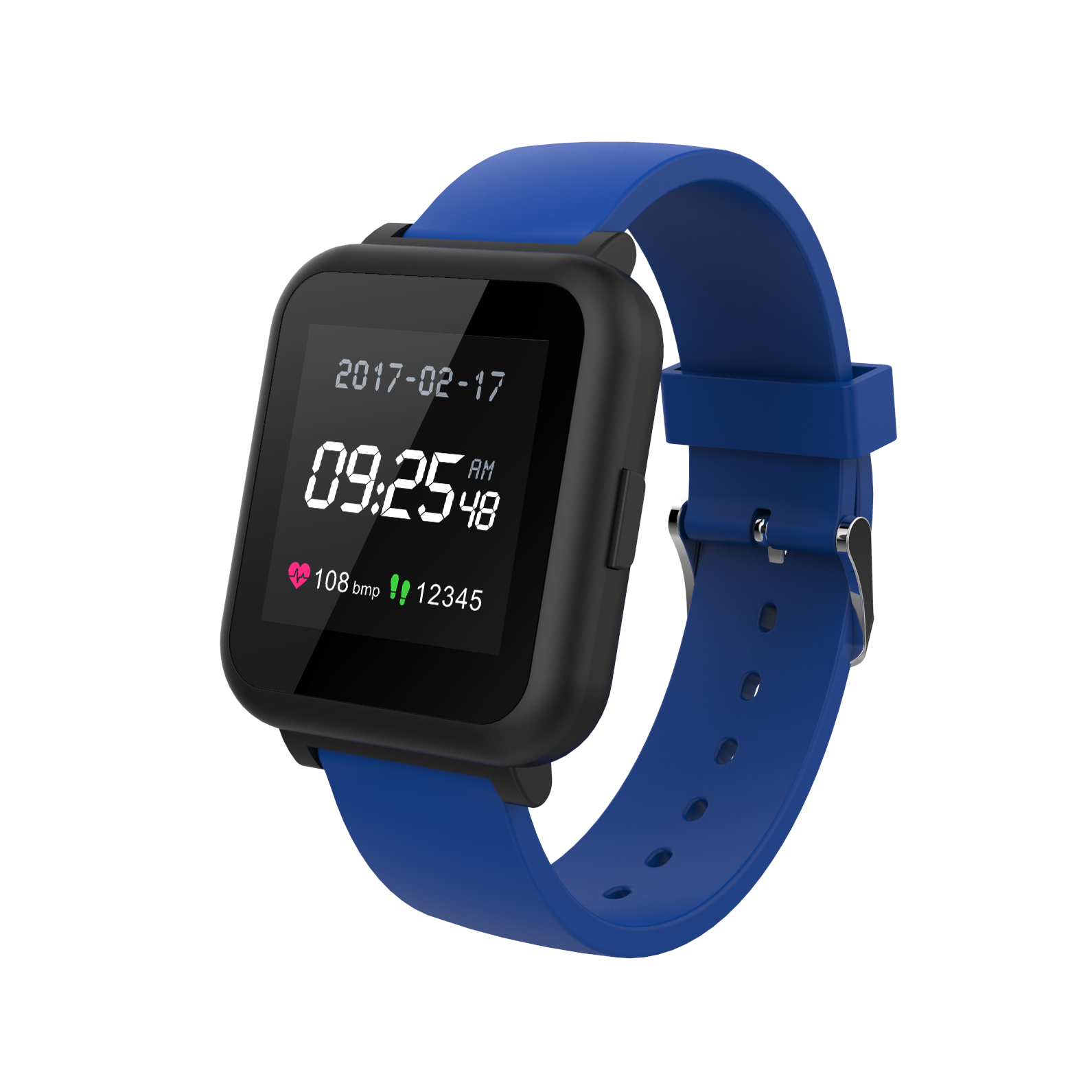 RBX Active Smartwatch Tracker with Heart Rate Monitor Tracker