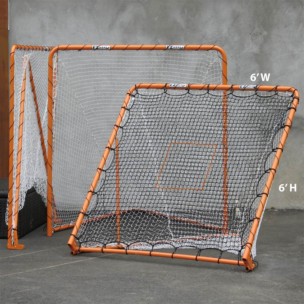 Lacrosse Folding Goal w Tilt Throwback by EZ Goal