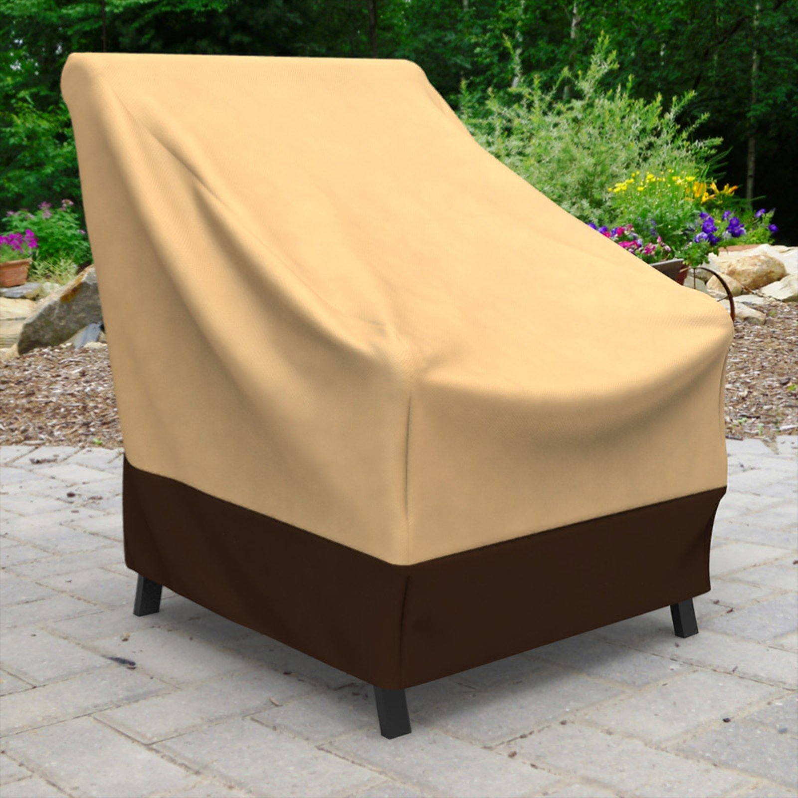 Budge Industries All-Seasons Polypropylene Outdoor Patio Chair Cover