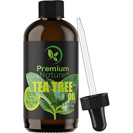 Tea Tree Pure Essential Oil 4 Oz - Natural Therapeutic Grade Aromatherapy Relaxation Body & Skin Tag Essential Oils for Diffusers & Carrier Oils For Toenail Nail Fungus Acne & Lice Limited Edition 2.0