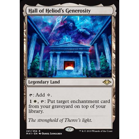 MtG Modern Horizons Hall of Heliod's Generosity
