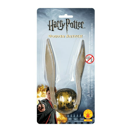 Harry Potter Golden Snitch Adult Halloween Accessory (Entertaining A Harry Potter Halloween Party)